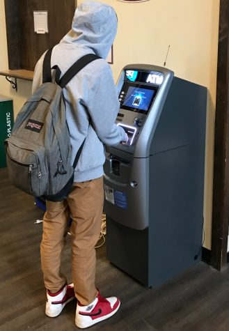 Mysterious ATM Appears in Student Center