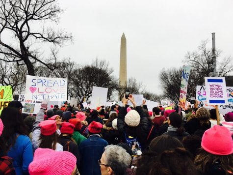 Women's March Draws Supporters From Far and Wide
