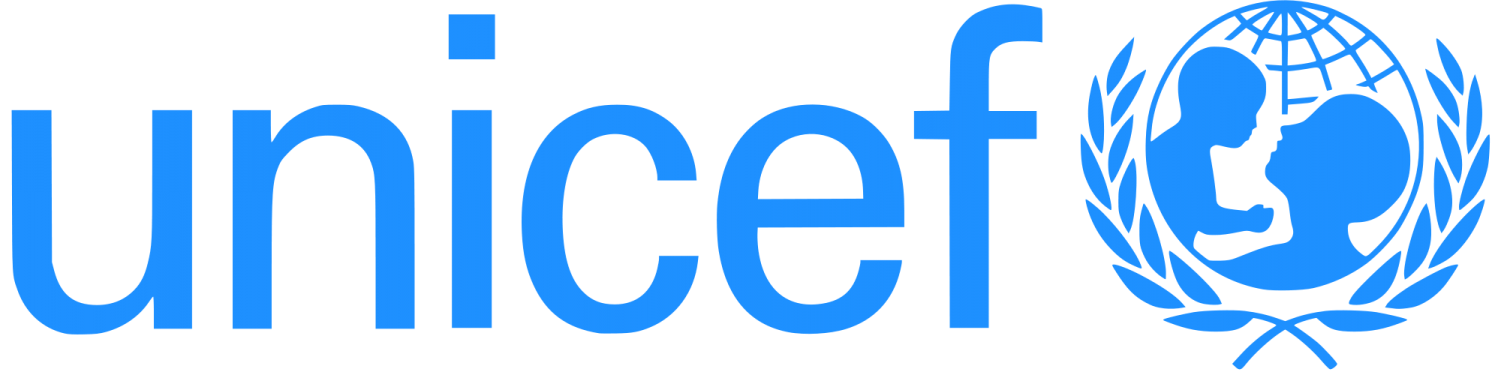 The UNICEF official logo. Image from https://commons.wikimedia.org/wiki/File:UNICEF_Logo.png
