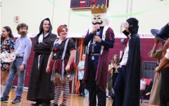 Costume Contest at The MacDuffie School. Photo provided by Allyson Bigelow.