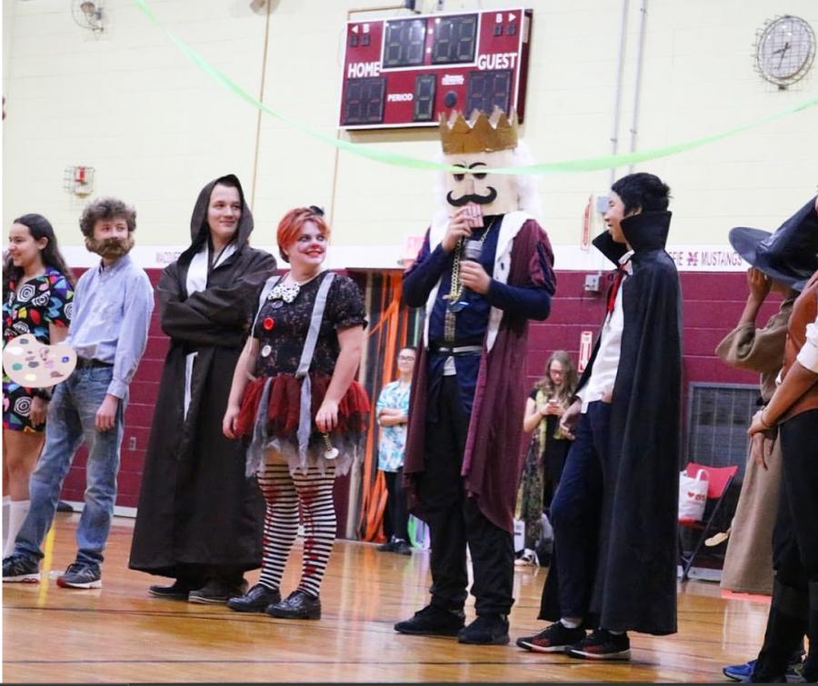 MacDuffie Celebrates Halloween with Costume Contest, Dance
