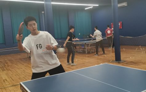 Athletics Department Considers Promoting Table Tennis CAP to a Winter Sport