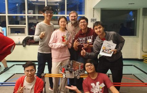 Mechanical Mustangs Head to State Robotics Competition