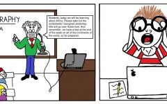 Spotty microphone technology can lead to some... misunderstandings. (Click cartoon to view larger!) Artwork by Clara LaChance